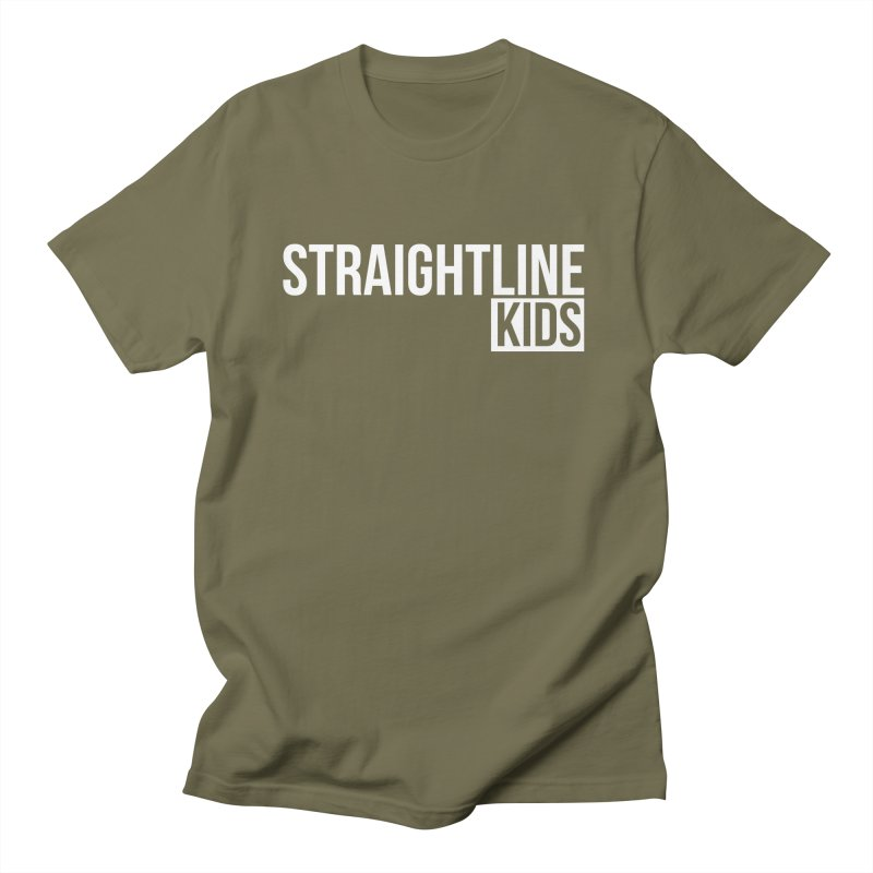 STRAIGHTLINE KIDS Men's T-Shirt by Church at Hampton Roads Apparel
