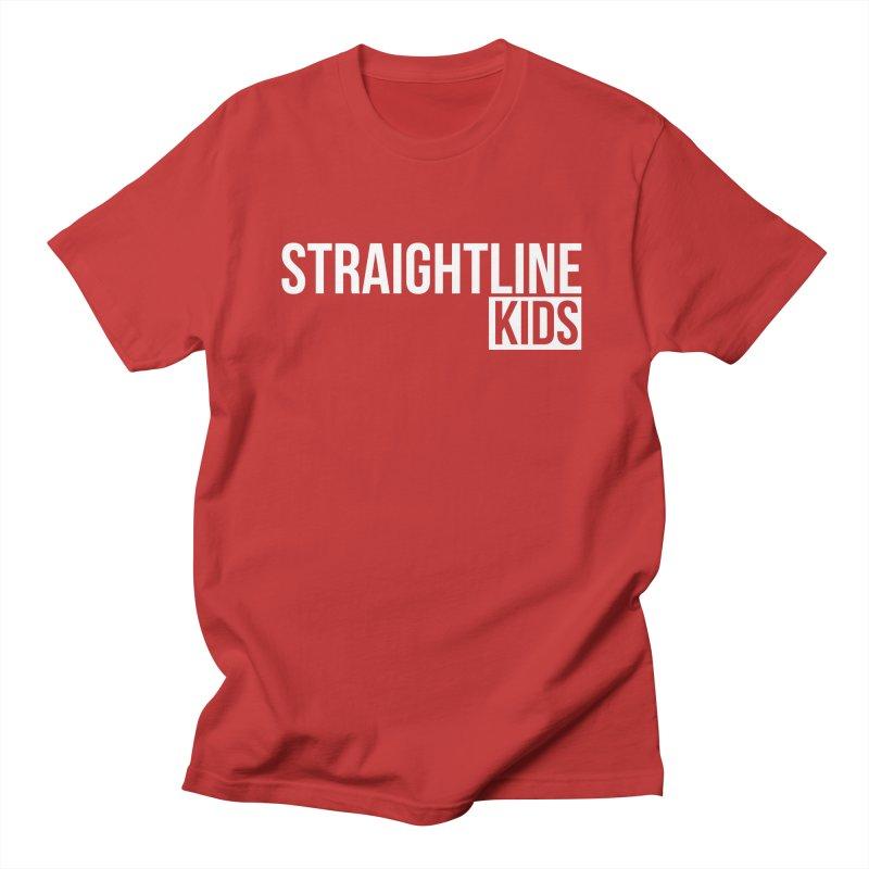 STRAIGHTLINE KIDS Men's Regular T-Shirt by Church at Hampton Roads Apparel