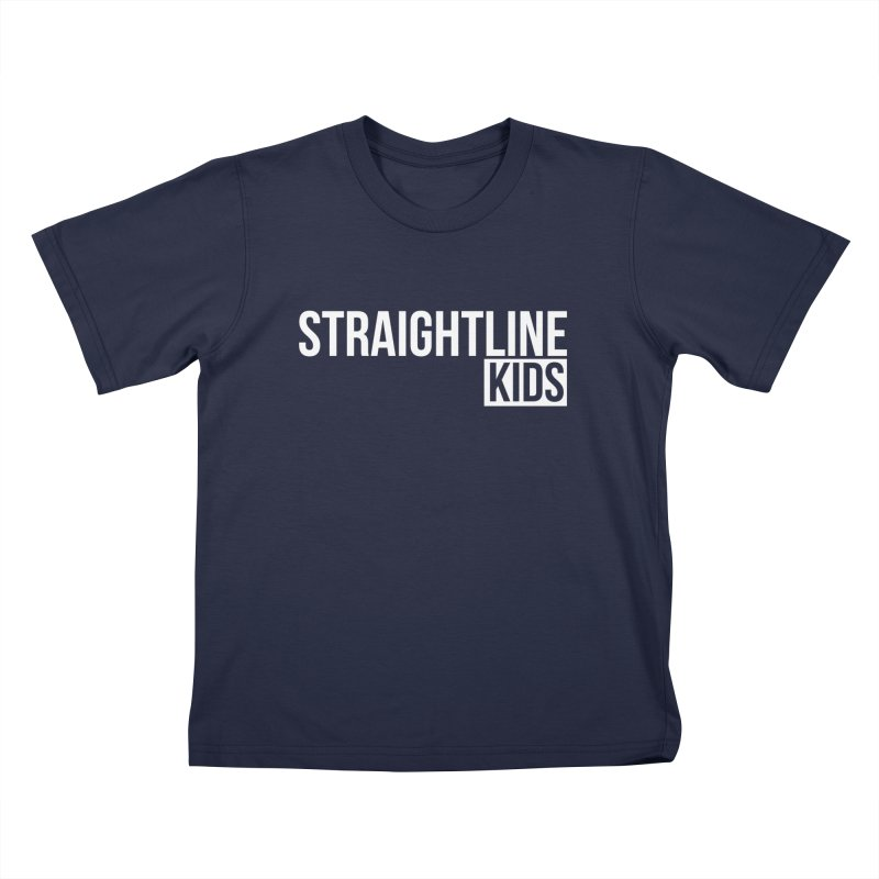 STRAIGHTLINE KIDS Kids T-Shirt by Church at Hampton Roads Apparel