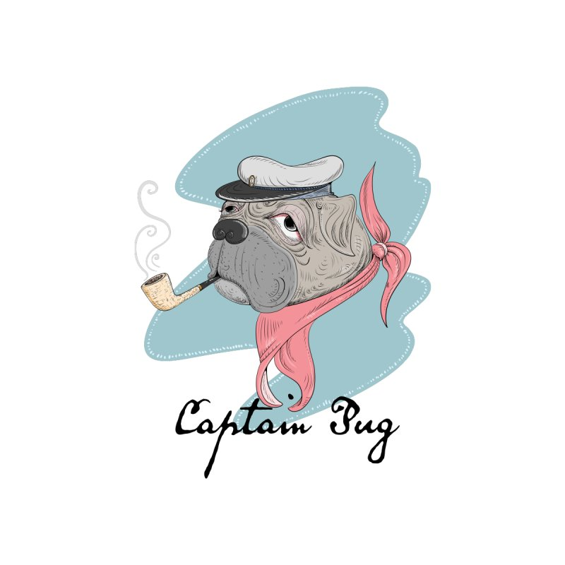 Captain Pug by Illustrated Madness