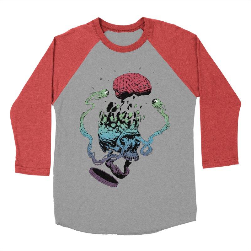 Headplosion Women's Baseball Triblend Longsleeve T-Shirt by The Blackstock Shop