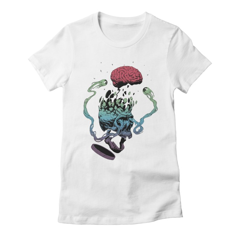 Headplosion Women's Fitted T-Shirt by The Blackstock Shop