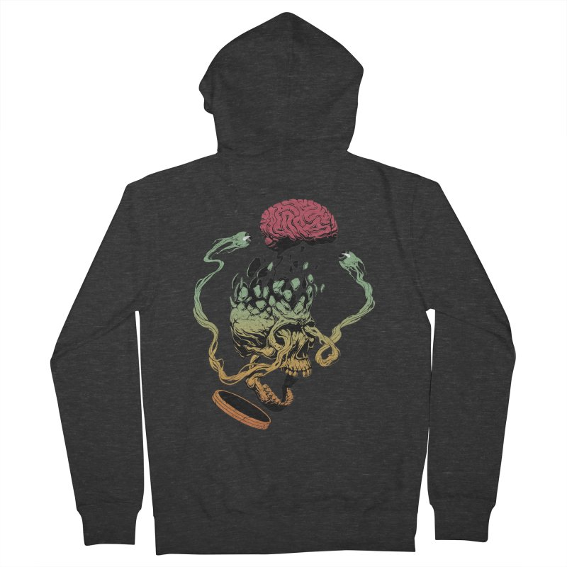 Headplosion II Men's Zip-Up Hoody by The Blackstock Shop