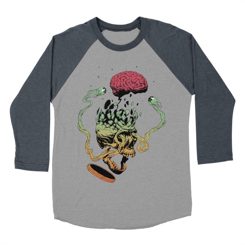 Headplosion II Men's Baseball Triblend Longsleeve T-Shirt by The Blackstock Shop