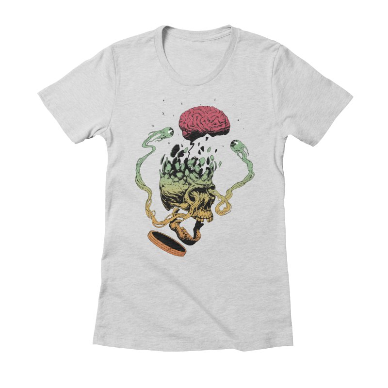 Headplosion II Women's Fitted T-Shirt by The Blackstock Shop