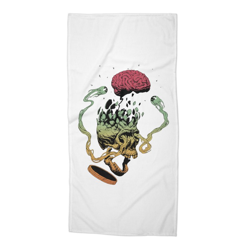 Headplosion II Accessories Beach Towel by The Blackstock Shop