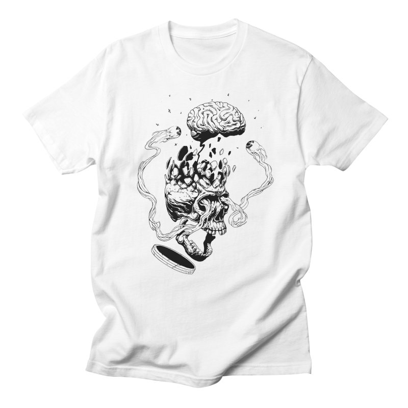 Headplosion (line only) Men's T-Shirt by The Blackstock Shop