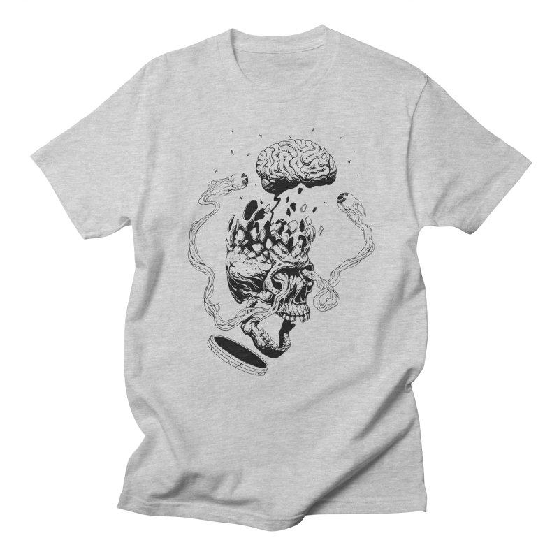 Headplosion (line only) Men's Regular T-Shirt by The Blackstock Shop