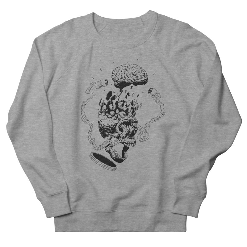 Headplosion (line only) Men's Sweatshirt by The Blackstock Shop