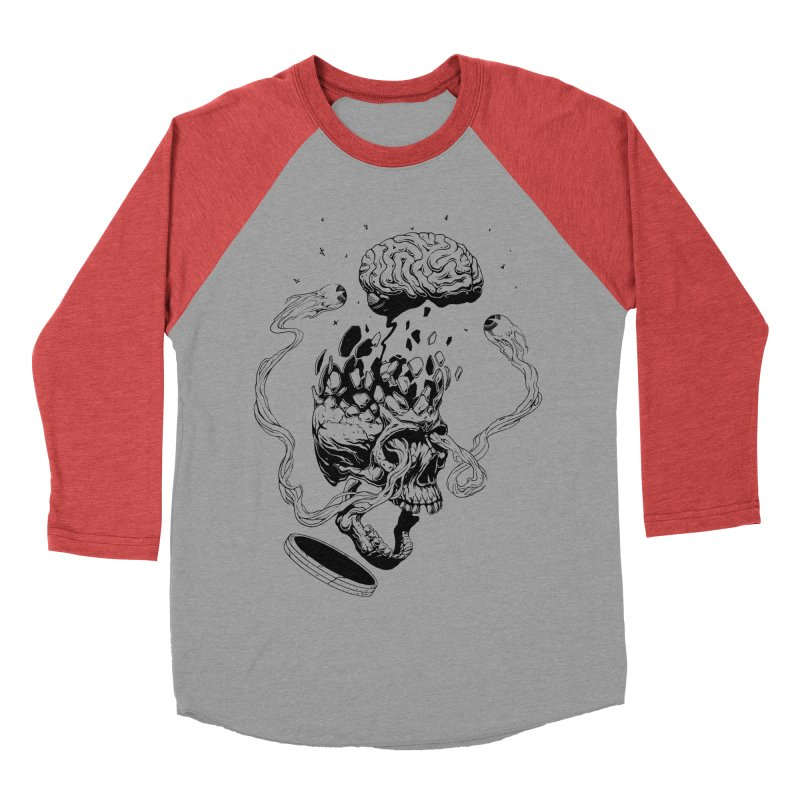 Headplosion (line only) Men's Baseball Triblend Longsleeve T-Shirt by The Blackstock Shop