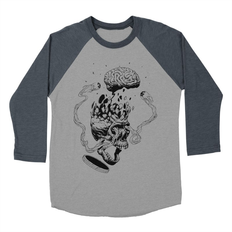 Headplosion (line only) Men's Baseball Triblend Longsleeve T-Shirt by The Blackstock Shop