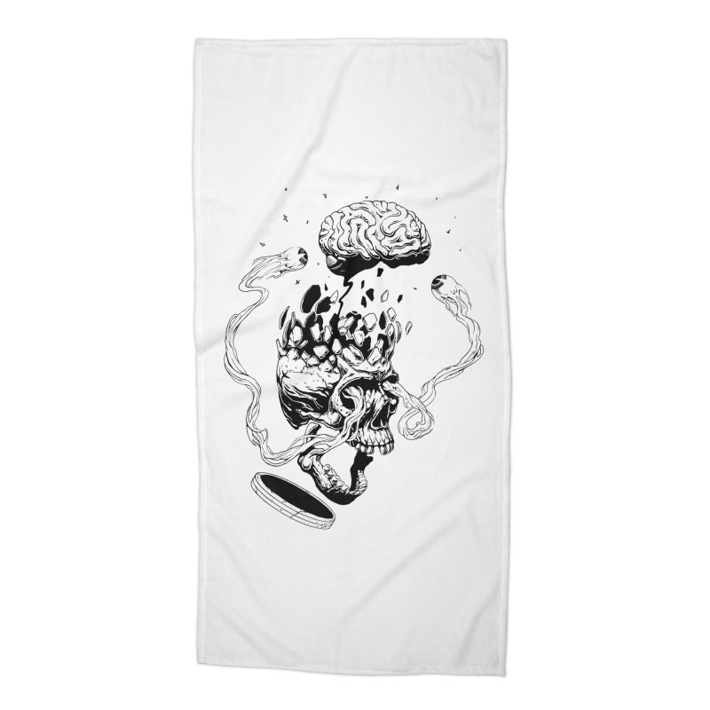 Headplosion (line only) Accessories Beach Towel by The Blackstock Shop