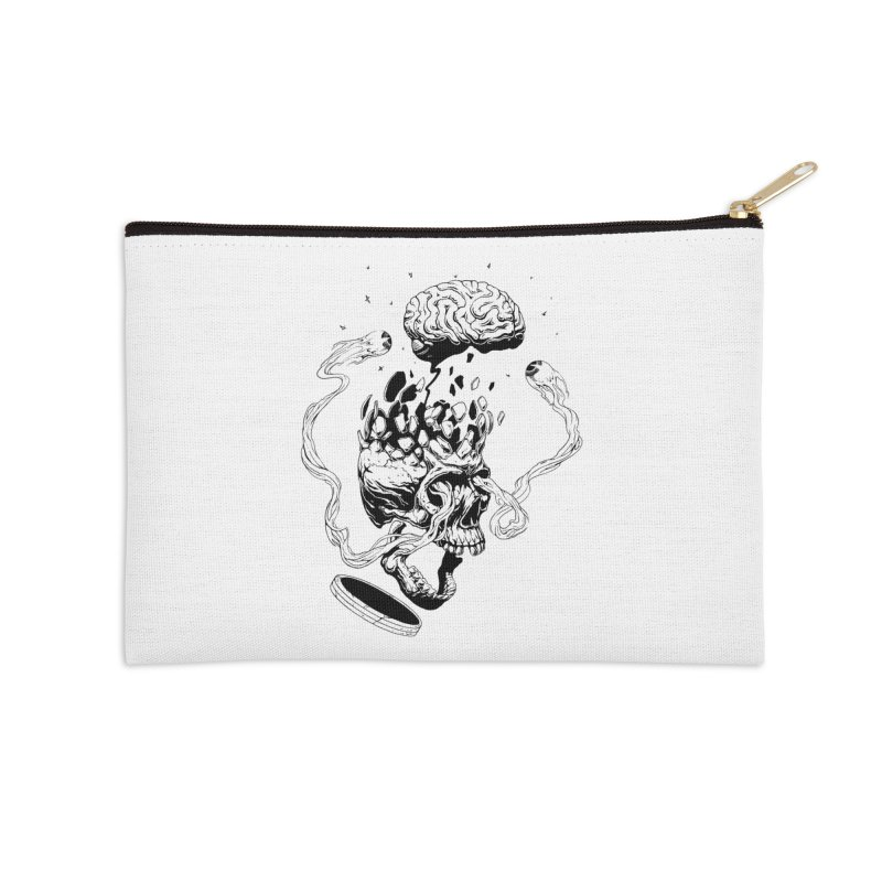 Headplosion (line only) Accessories Zip Pouch by The Blackstock Shop