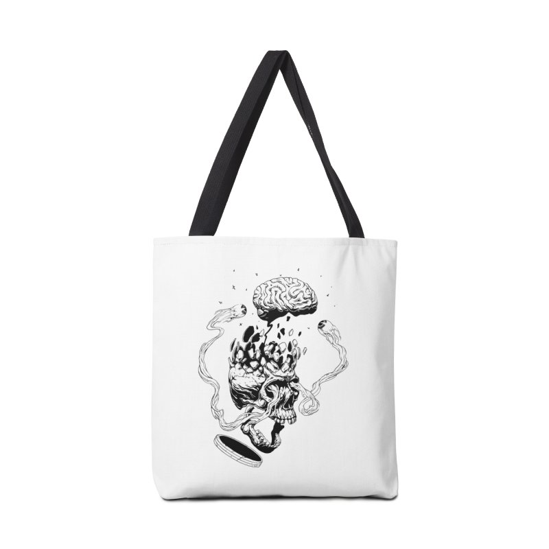 Headplosion (line only) Accessories Tote Bag Bag by The Blackstock Shop
