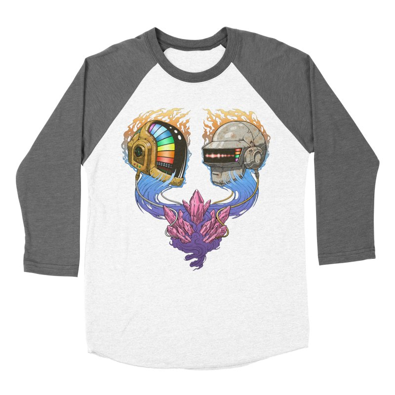 Daft Punk Funk Women's Longsleeve T-Shirt by The Blackstock Shop