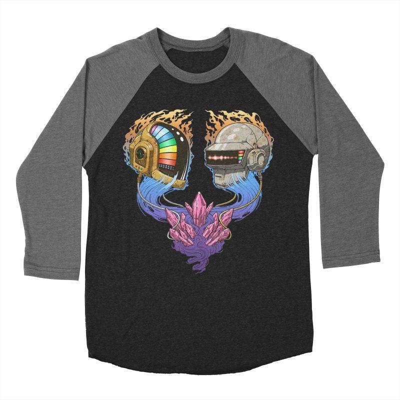 Daft Punk Funk Women's Baseball Triblend Longsleeve T-Shirt by The Blackstock Shop