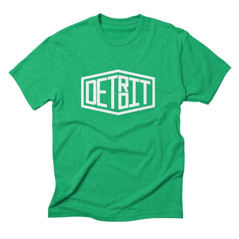Detroit Men's Triblend T-Shirt by ChrisBrands