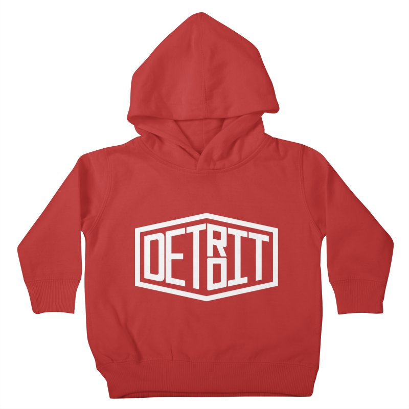 Detroit Kids Toddler Pullover Hoody by ChrisBrands