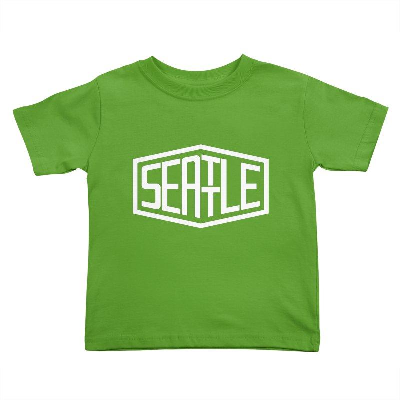 Seattle Kids Toddler T-Shirt by ChrisBrands
