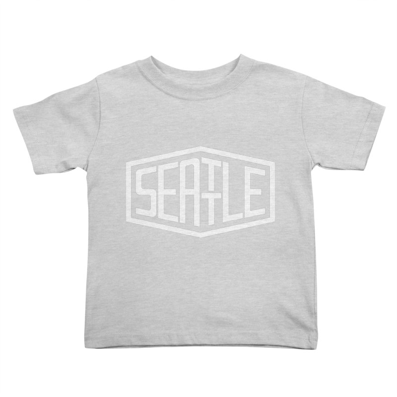 Seattle Kids Toddler T-Shirt by ChrisBrands
