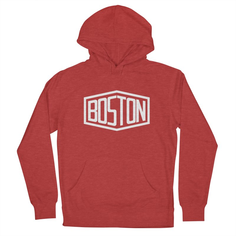 Boston Men's French Terry Pullover Hoody by ChrisBrands