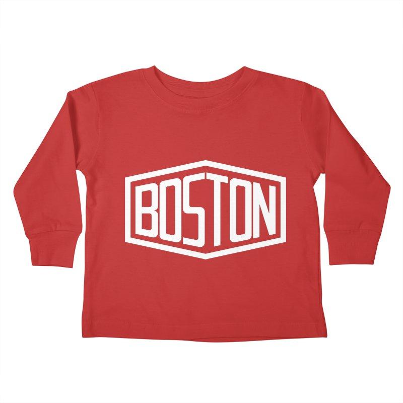 Boston Kids Toddler Longsleeve T-Shirt by ChrisBrands