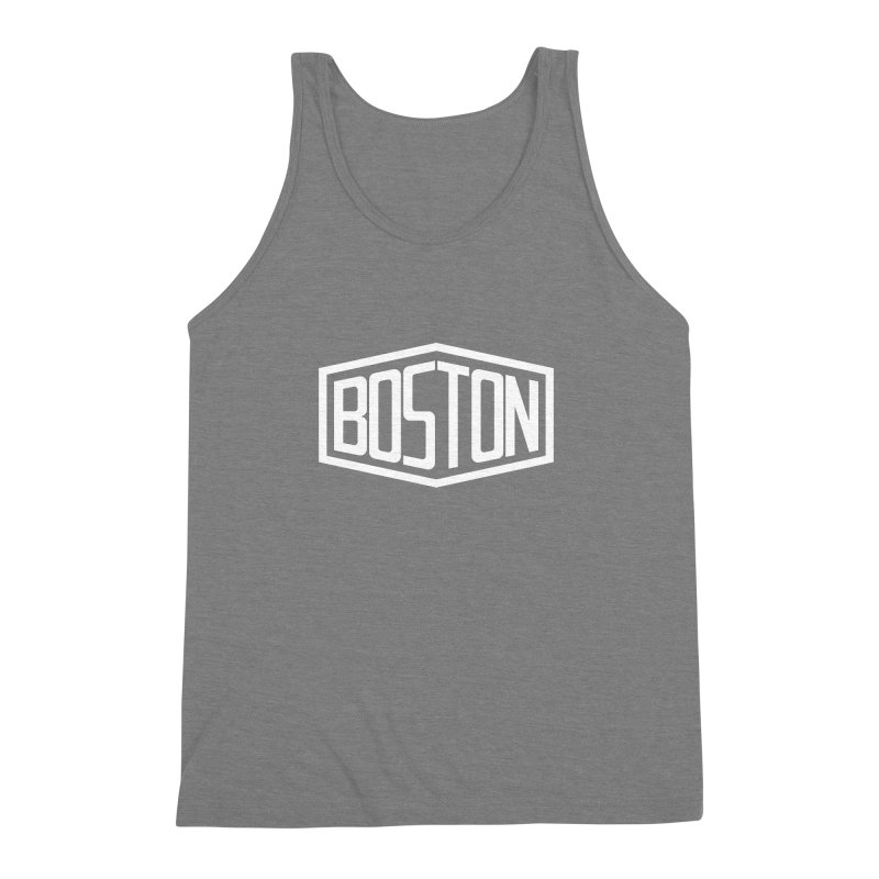 Boston Men's Triblend Tank by ChrisBrands