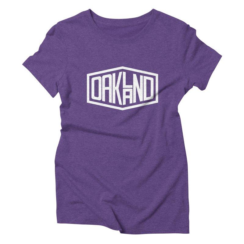 Oakland Women's Triblend T-Shirt by ChrisBrands