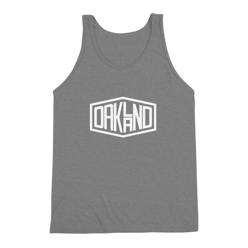 Oakland Men's Triblend Tank by ChrisBrands