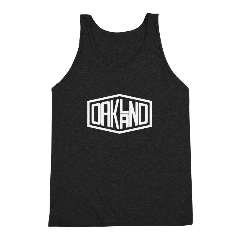 Oakland Men's Triblend Tank by ChrisBrands