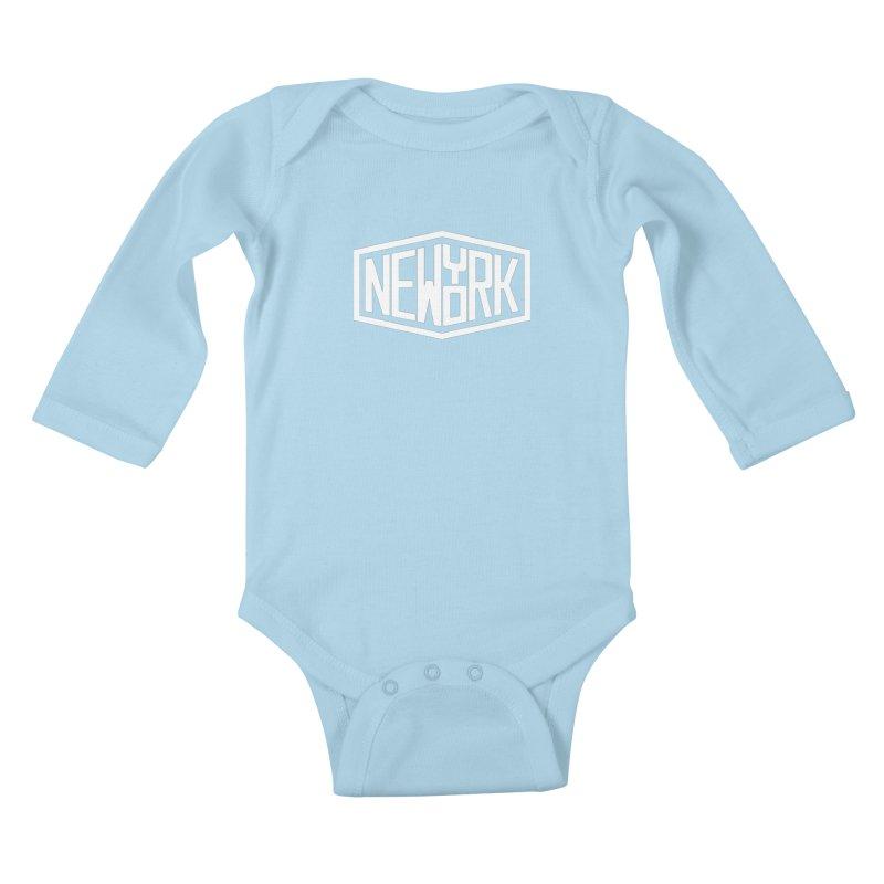 New York Kids Baby Longsleeve Bodysuit by ChrisBrands