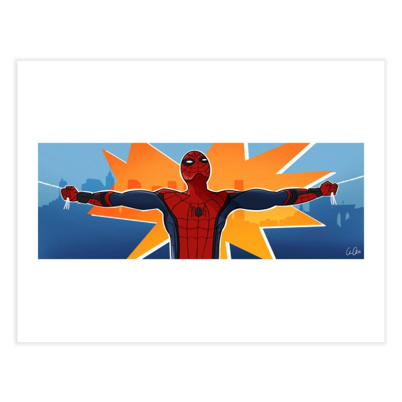 Spider-Man Brooklyn Home Fine Art Print by ChrisBrands