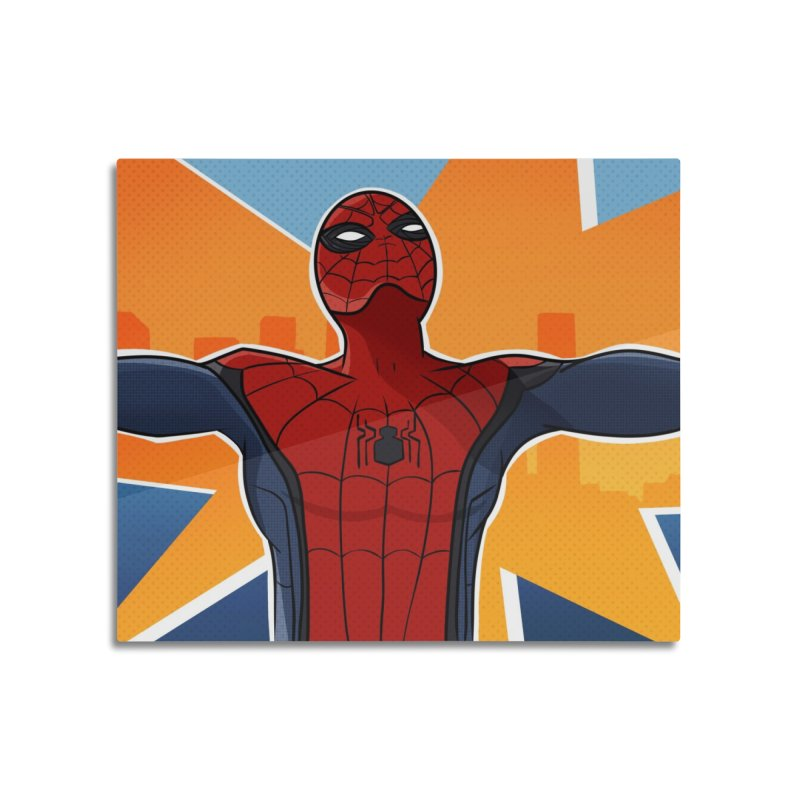 Spider-Man Brooklyn Home Mounted Acrylic Print by ChrisBrands
