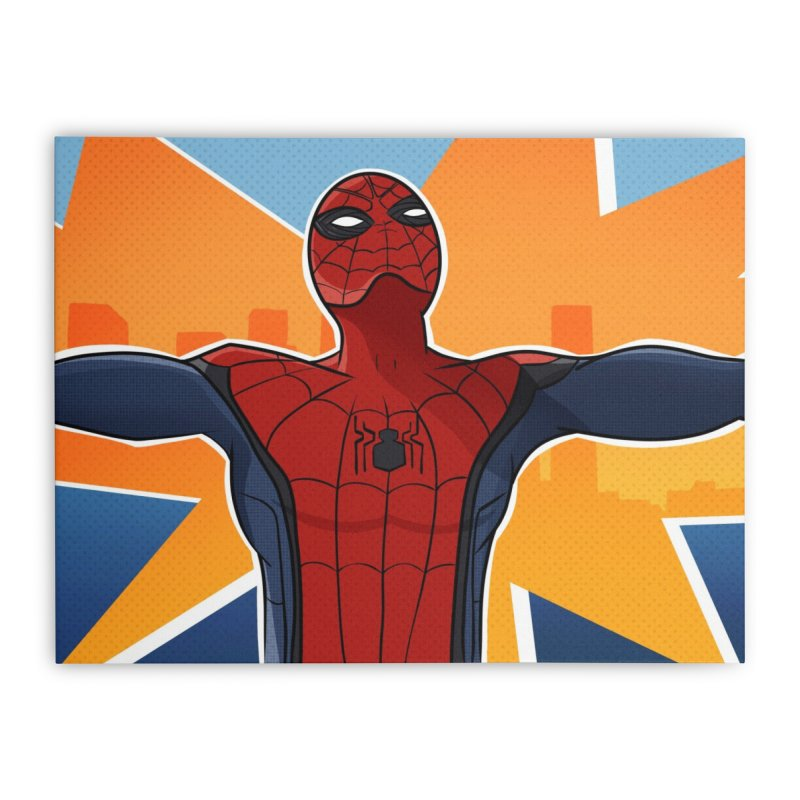 Spider-Man Brooklyn Home Stretched Canvas by ChrisBrands