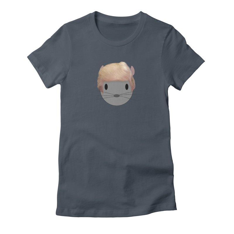Trump Chinchilla Women's T-Shirt by chrischinchilla's Artist Shop