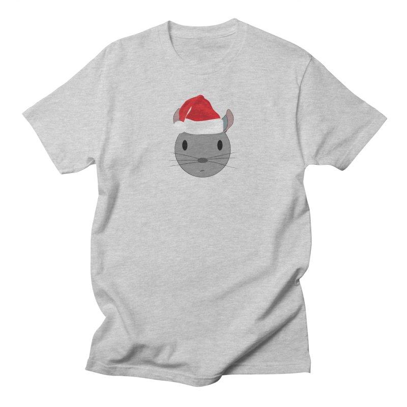 Christmas Chinchilla Men's T-Shirt by chrischinchilla's Artist Shop