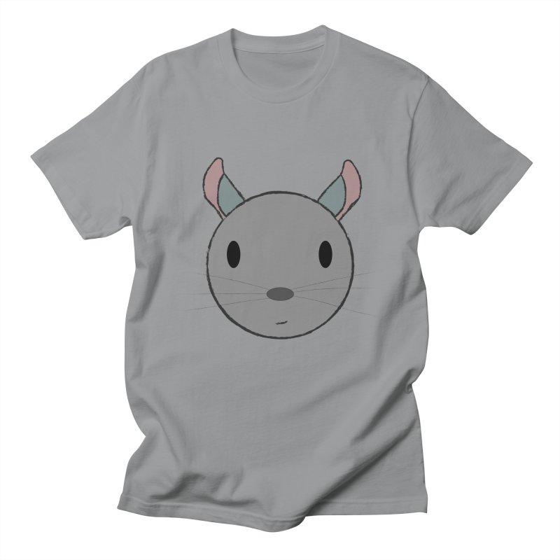 Happy Chinchilla Men's T-Shirt by chrischinchilla's Artist Shop