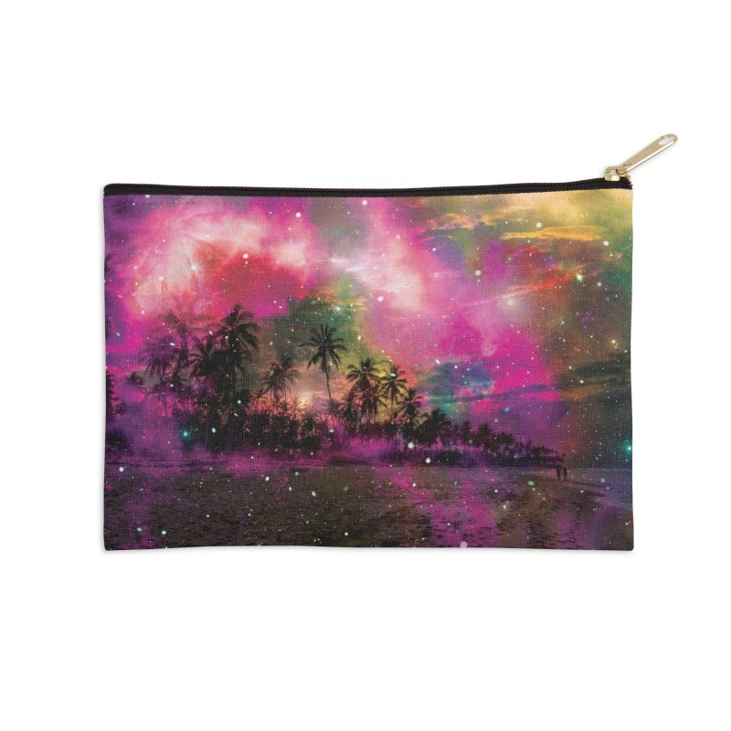 Galactic Paradise Accessories Zip Pouch by chriscoffincreations