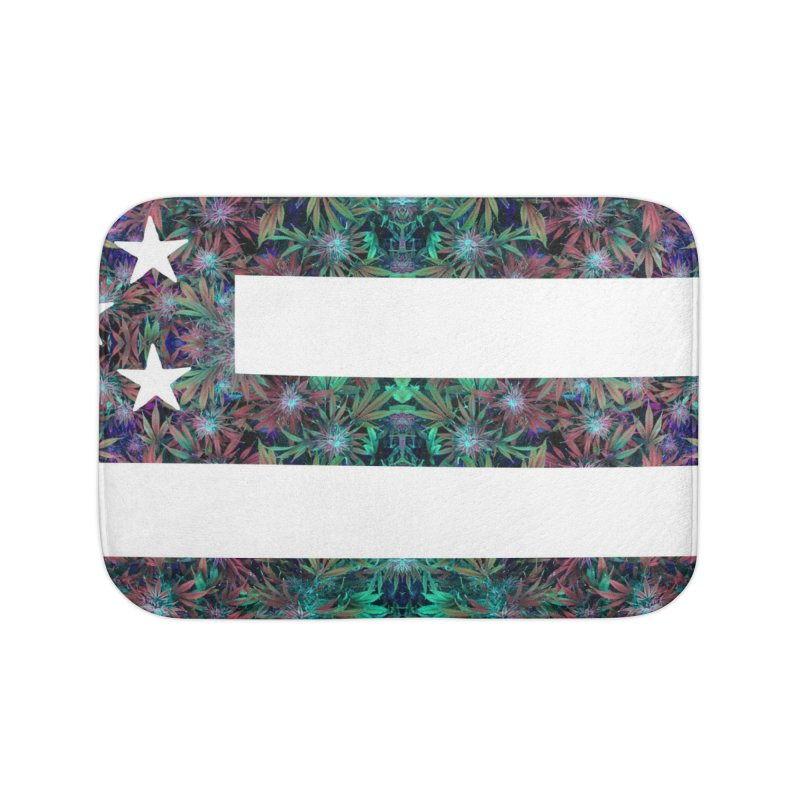 One Nation Under Mary Home Bath Mat by chriscoffincreations