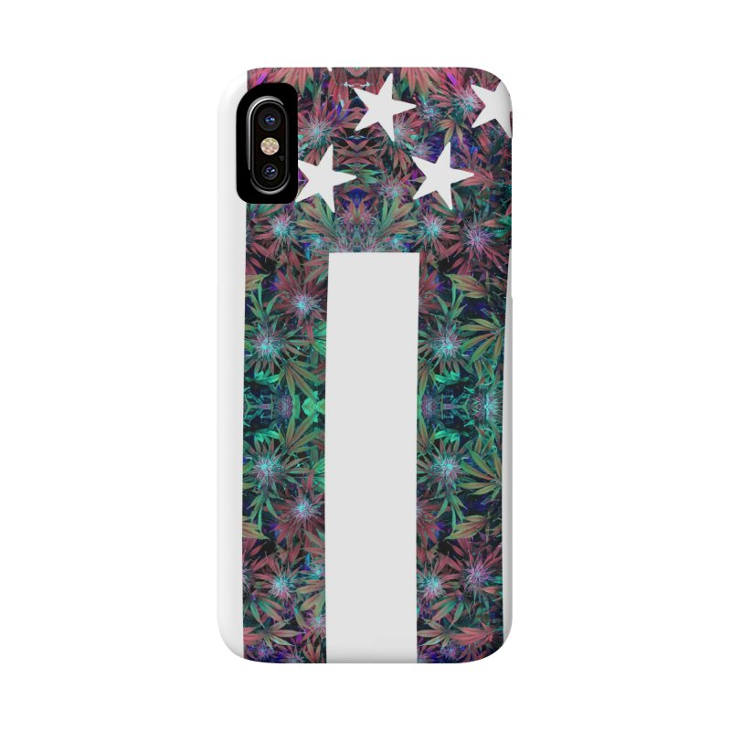 One Nation Under Mary Accessories Phone Case by chriscoffincreations