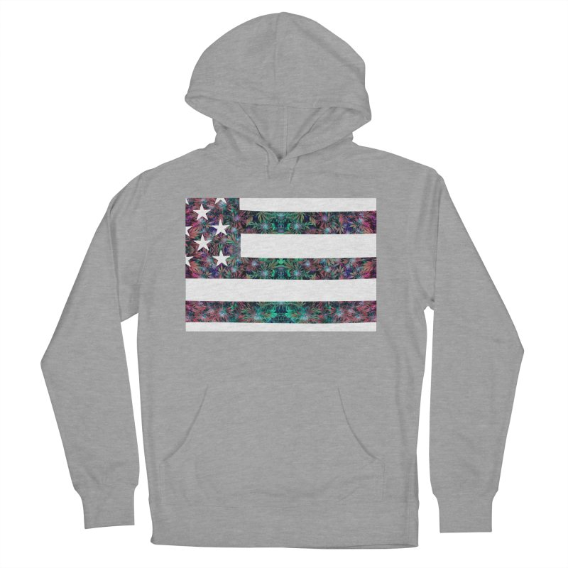 One Nation Under Mary Men's French Terry Pullover Hoody by chriscoffincreations