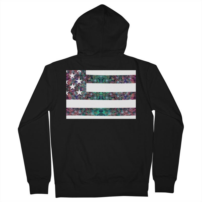 One Nation Under Mary Women's French Terry Zip-Up Hoody by chriscoffincreations