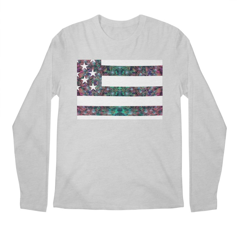 One Nation Under Mary Men's Regular Longsleeve T-Shirt by chriscoffincreations