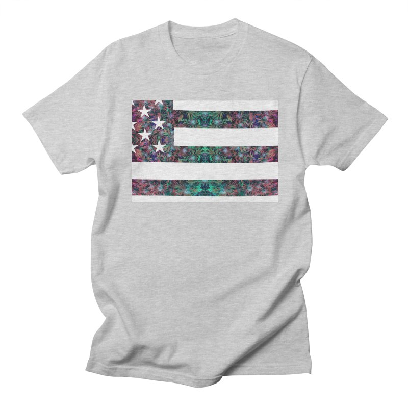 One Nation Under Mary Men's Regular T-Shirt by chriscoffincreations