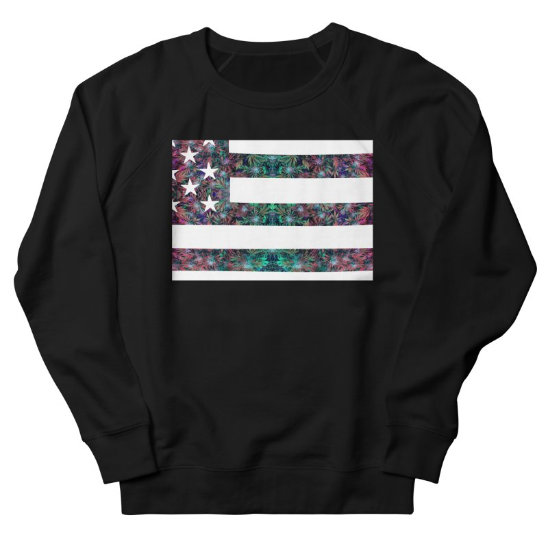 One Nation Under Mary Men's French Terry Sweatshirt by chriscoffincreations