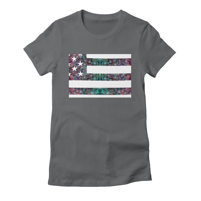 One Nation Under Mary Women's Fitted T-Shirt by chriscoffincreations