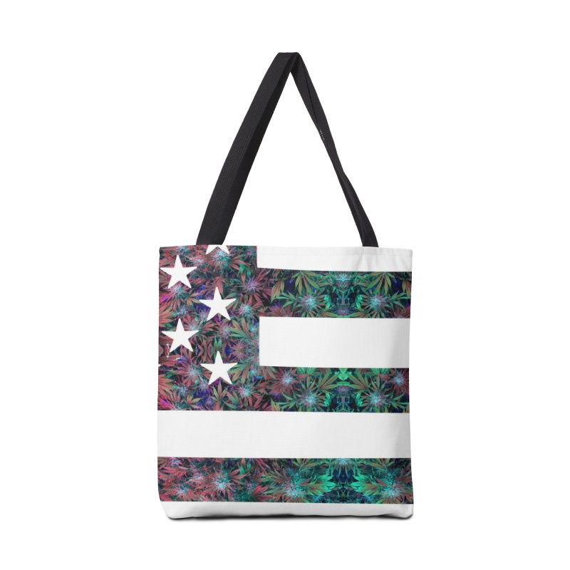 One Nation Under Mary Accessories Bag by chriscoffincreations