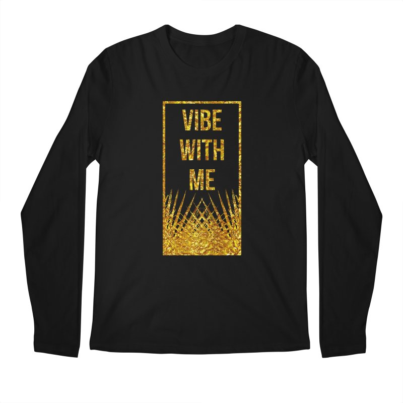 Vibe With Me Men's Regular Longsleeve T-Shirt by chriscoffincreations