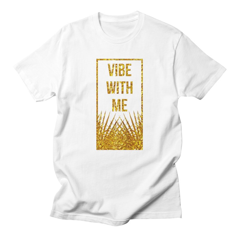 Vibe With Me Men's Regular T-Shirt by chriscoffincreations