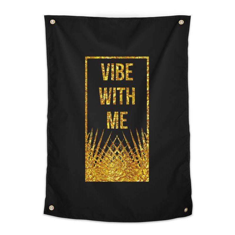 Vibe With Me Home Tapestry by chriscoffincreations